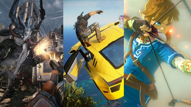 Evolve, Just Cause 3 und The Legend of Zelda - Das sind nur einige Hit-Kandidaten für 2015.