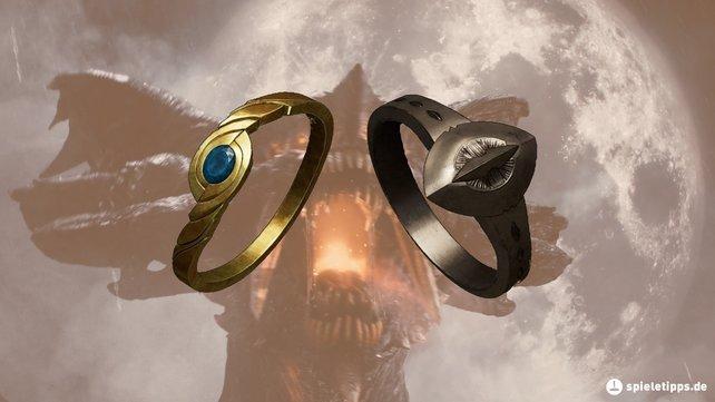 Die Ringe bei Demon's Souls: Remake sind detailiert und sehen schön aus.