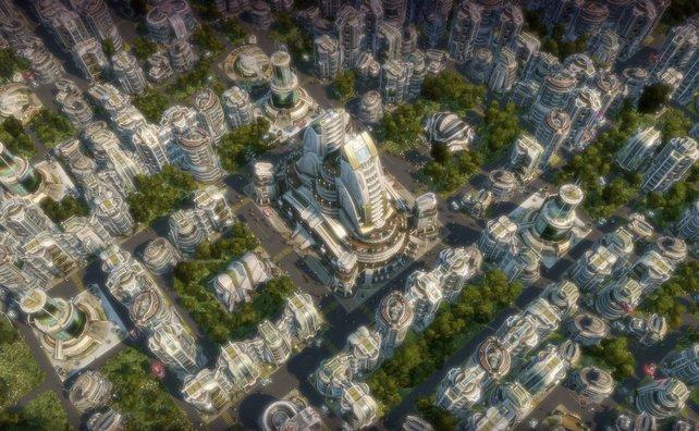 In Anno 2070 wird zum ersten Mal innerhalb der Serie in der Zukunft gewirtschaftet.