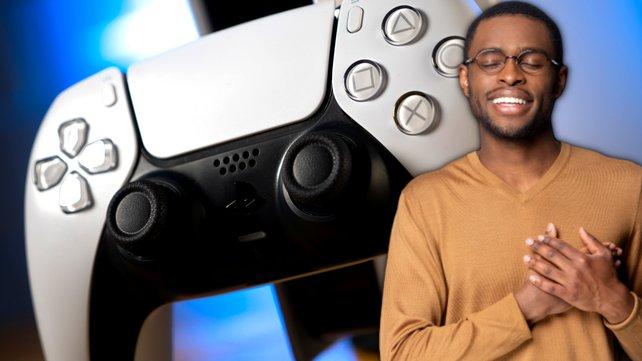 Spieler können aufatmen: Das neue PS5-Modell ist doch besser als erwartet. Bildquelle: Getty Images/fizkes.