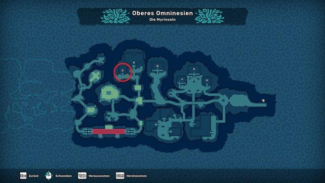 Die Organisation befindet sich im Norden des Canopfads. Sie befindet sich direkt neben dem Brutzentrum.