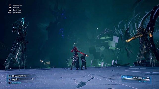 Die Praeco-Moira schickt drei ihrer Teile in den Kampf, die alle unterschiedliche Stärken und Schwächen aufweisen.
