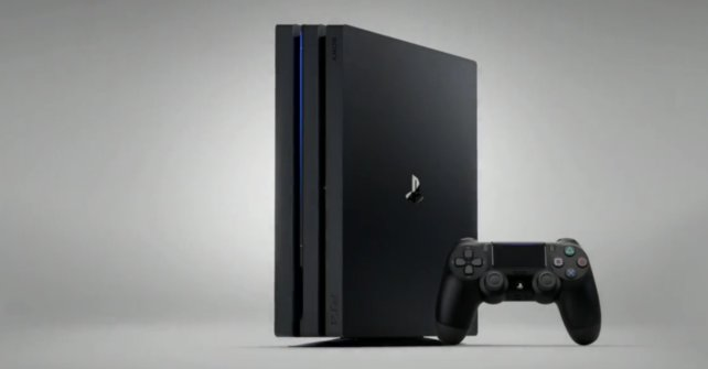 So sieht sie aus, die PlayStation 4 Pro