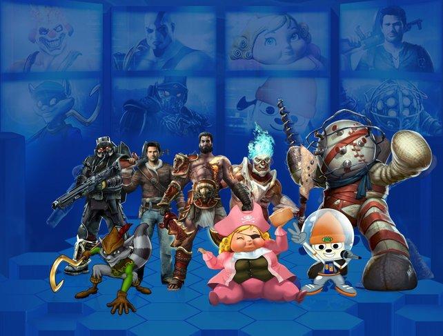 PlayStation All-Stars könnt ihr bald nur noch offline Spielen.