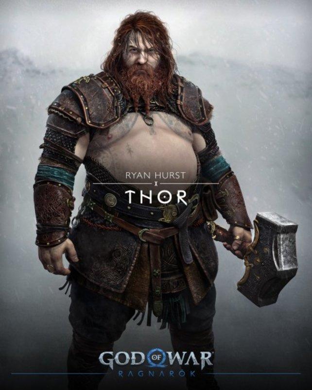 Thor in God of War: Ragnarök sieht anders aus, als es die Fans erwartet haben.
