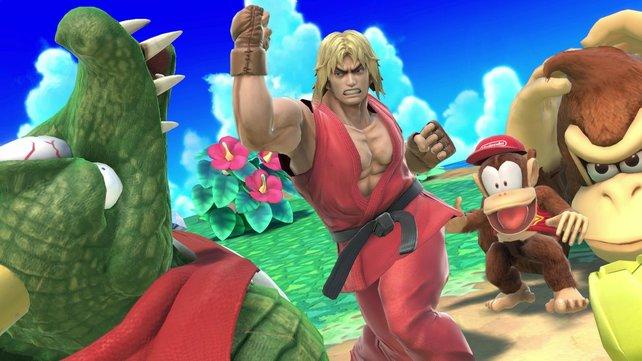 Ryus Kumpel Ken ist auch am Start!