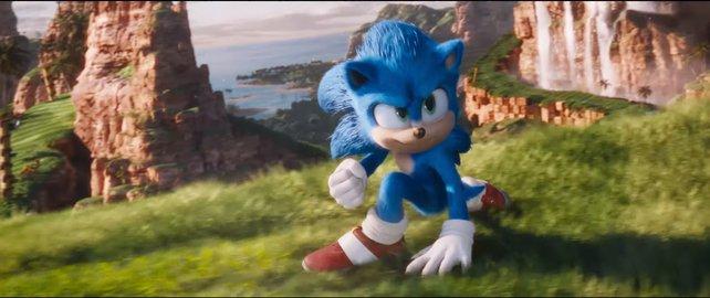 Im Vergleich zum ersten Trailer hat sich Sonics Design im Film deutlich geändert.