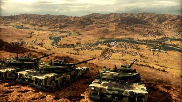 Zu den Gratis-Spielen gehört demnächst auch das Strategiespiel Wargame: The Red Dragon.