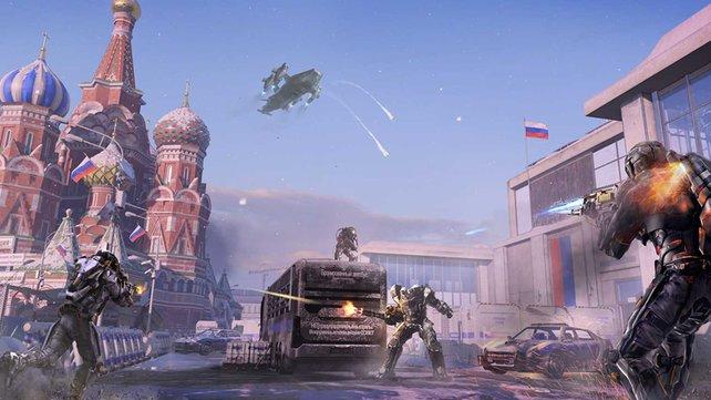 Die Karte Kremlin führt euch auf den Roten Platz in Moskau.