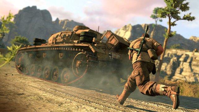 Wenn man die Schwachstellen kennt, sind auch Panzer kein Problem.
