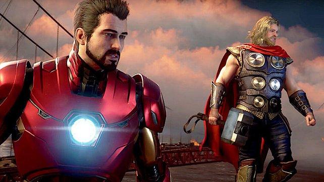 In Marvel's Avengers werdet ihr Teil des Superhelden-Teams – und zwar im Koop, mit anderen Spielern.