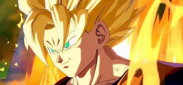 Super-Saiyajin Son Goku: Viele Charaktere können sich während des Kampfes transformieren.