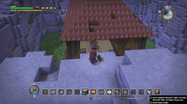 In Dragon Quest Builders Müsst Ihr Sogar Ein Dach Reparieren, Um Einen  Auftrag Abzuschließen.