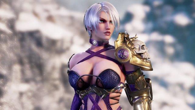 Vollkommen übertrieben dargestellte Figuren wie Ivy aus dem kommenden Soul Calibur 6 können Domina-Fantasien anregen.