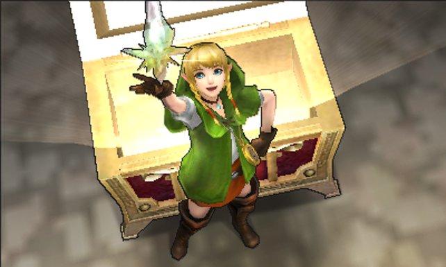 Linkle ist eine der neuen spielbaren Figuren.