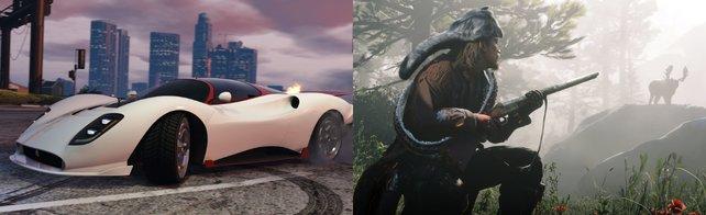 GTA Online & Red Dead Online: In den zwei Spielen stehen große Updates an.