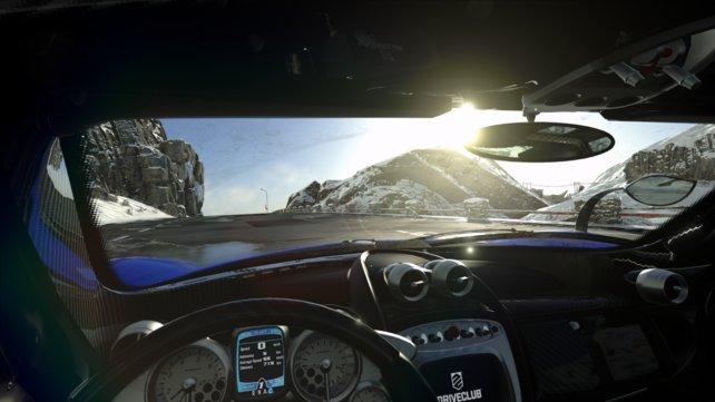Die Rennen könnt ihr unter anderem aus der Fahrerkabine fahren.