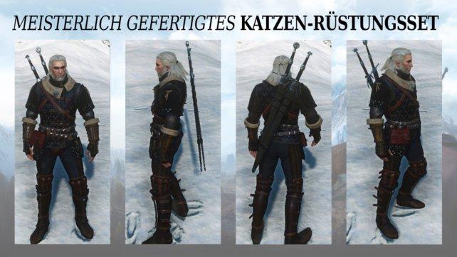 Witcher 3 Katzenschulenausrüstung