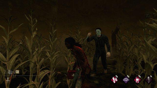 In Dead by Daylight macht nun Michael Myers Jagd auf euch - Sein Küchenmesser ist spitz und scharf.