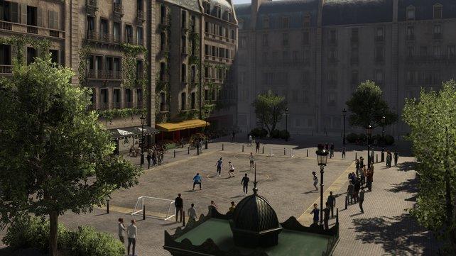 In Volta neu mit dabei: Ein Innenhof-Platz in Paris. Dazu gesellen sich auch Mailand und Sydney als neue Locations.