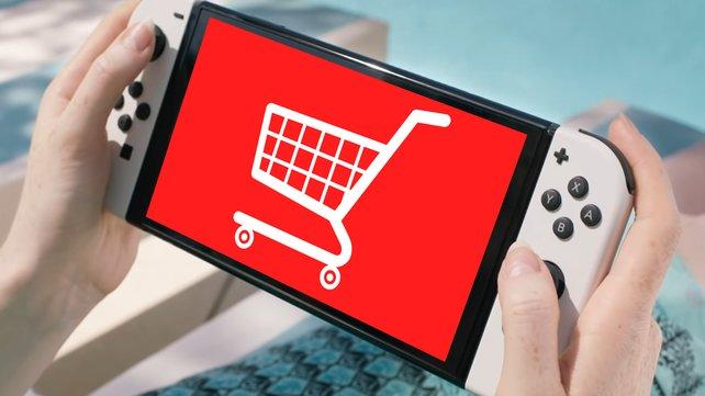 Die OLED-Switch kann aktuell besonders günstig bei Amazon bestellt werden. (Bild: Nintendo / Pixabay – OpenClipart-Vectors)