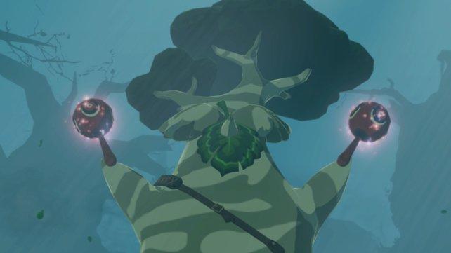 Wie in Zelda BotW kann Maronus mithilfe von Krog-Samen euer Waffeninventar vergrößern.