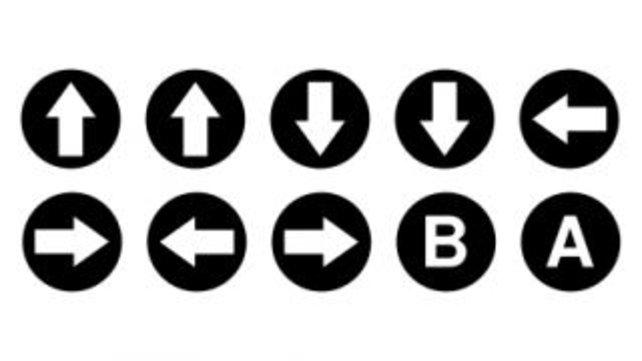 Der legendäre Konami-Code funktioniert durch Knopfdrücke in bestimmter Reihenfolge.