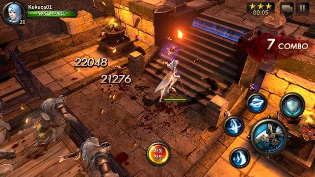 Spielszene aus dem Action-Rollenspiel Hit.