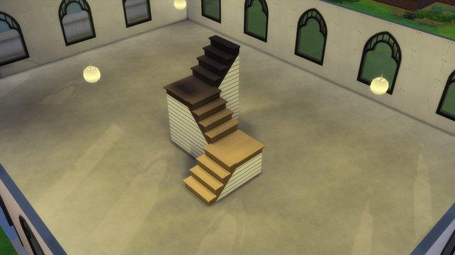 Mithilfe der neuen Treppenfunktion könnt ihr eure Treppen stylisch aufwerten.