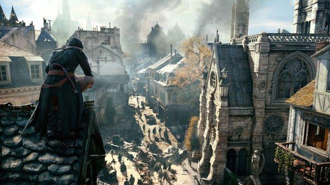 Die Weitsicht der neuen Anvil-Grafikengine beeindruckt auf PC, PS4 und Xbox One.