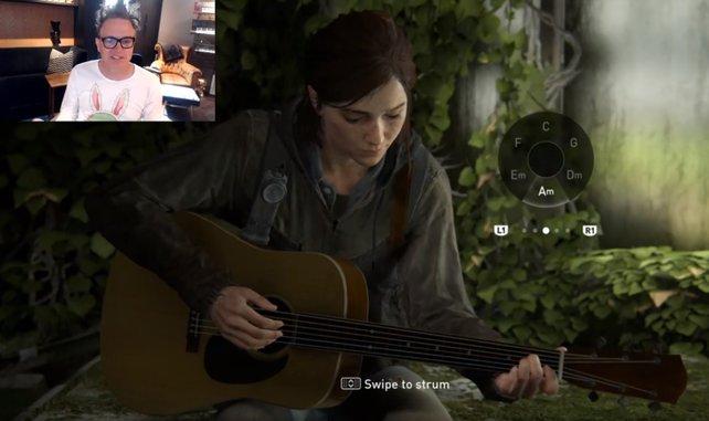 """Mark Hoppus covert einen """"Blink 182""""-Song auf Ellies Gitarre"""