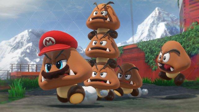 """Ratet mal, welcher Gumba sich umdrehen würde, wenn ihr """"Mario!"""" in die Menge ruft!"""