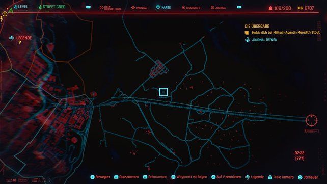 Der elfte Cyberpsycho versteckt sich in Badlands.