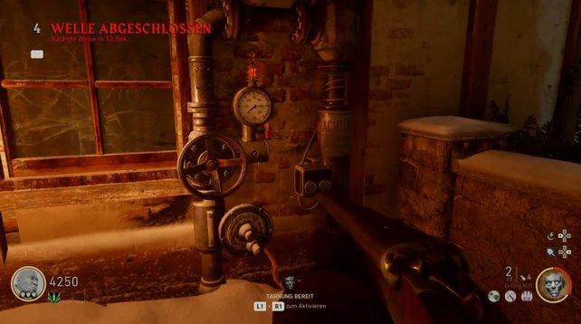 """""""The Final Reich"""": Diese Gasventile müsst ihr öffnen, wenn ihr den Strom einschalten wollt."""