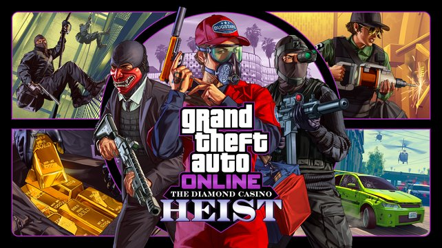 Im großen Casino von Los Santos wartet jede Menge Geld auf euch: Der nächste Heist von GTA Online steht bevor.