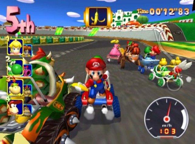 Seit Double Dash!! hat Mario Kart seinen heutigen extrovertierten Charakter.