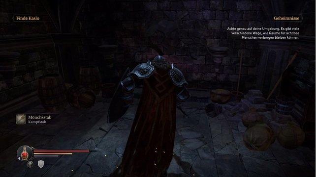 Wände wie diese könnt ihr in Lords of the Fallen einreißen.