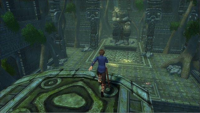 Im ersten Tempel ist nichts so wie es scheint