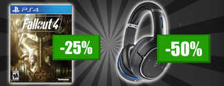 Deals: Schnäppchen des Tages - Fallout 4 und 7.1-Headsets bis zu 50 Prozent reduziert