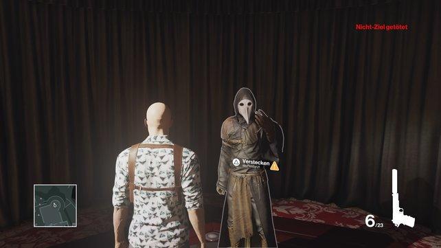 Dieses Kostüm müsst ihr für das Attentat überziehen