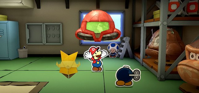 Paper Mario: The Origami King teast Metroid Prime 4 an.