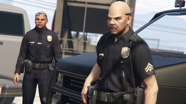 """Wir konnten zwei Polizisten des """"State V""""-Servers in ihr Leben als Gesetzeshüter begleiten."""