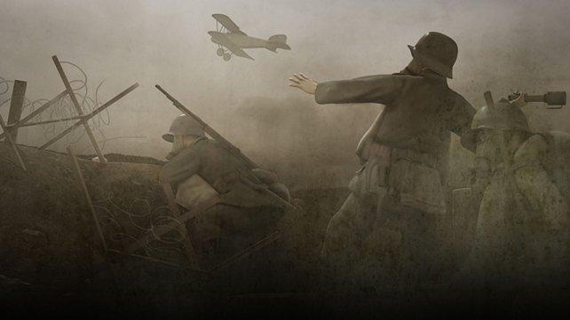 Wahrer Horror: die Schützengräben des Ersten Weltkriegs.