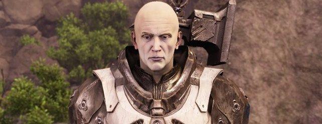 Arx' Hammer wird euch auf dem Schlachtfeld eine große Hilfe sein.
