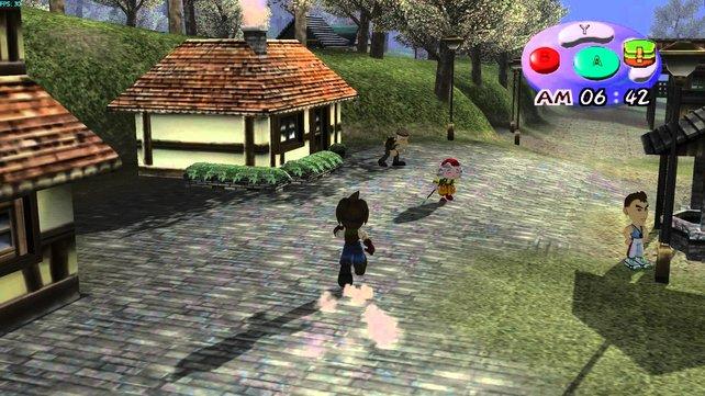 A Wonderful Life ist der erste Teil, den ihr wie zum Beispiel ein Adventure aus der Verfolgerperspektive spielt. Später als die Gamecube-Fassung erscheint die PS2-Version Oh! Wonderful Life, die euch ein Extramädchen in Aussicht stellt.