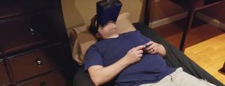 Panorama: Nintendo Switch: Spieler erfindet Halterung für besonders bequemes Zocken