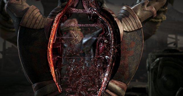 Mortal Kombat X liefert tiefe Einblicke in die menschliche Anatomie.