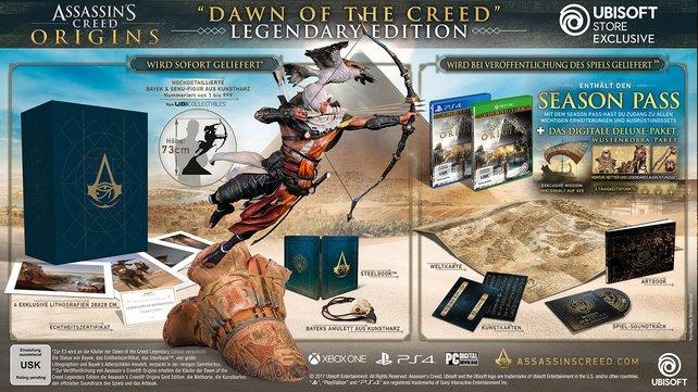 Die Legendary Edition ist auf 999 Stück limitiert und kostet dementsprechend knapp 800 Euro.