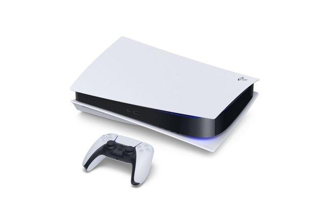 Die PlayStation 5 in ihrer vollen Pracht.