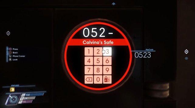 Die korrekten Codes werden euch rechts bei der Eingabe angezeigt, nachdem ihr sie gefunden habt.